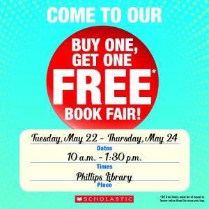 Phillips BOGO Book Fair! @ Phillips Library
